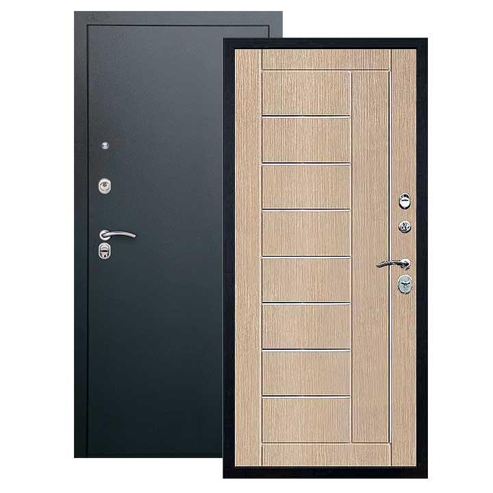 Дверь Фриза панель капучино, покрытие черный шелк