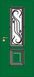 Фото двери уличной с ковкой