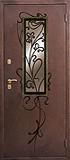 Двери с ковкой уличные