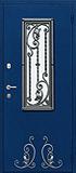 Дверь с ковкой на заказ