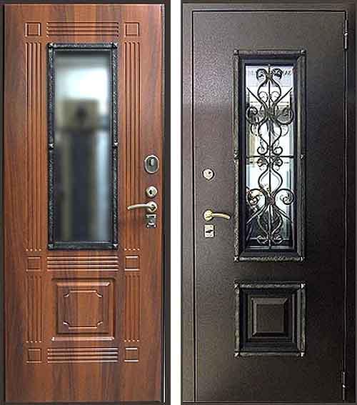 стальные двери уличные каталог
