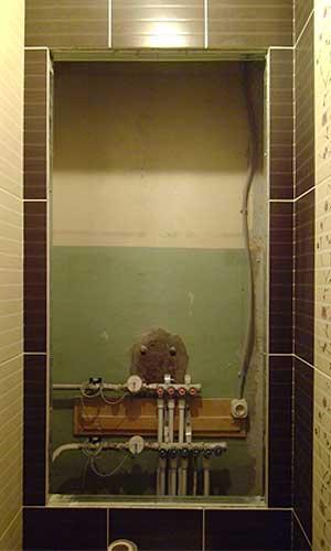 сантехнические лючки готовый в туалет